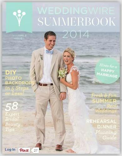 Wedding Wire Summer Book Feature 1